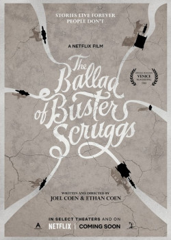 Plakát filmu  / The Ballad of Buster Scruggs