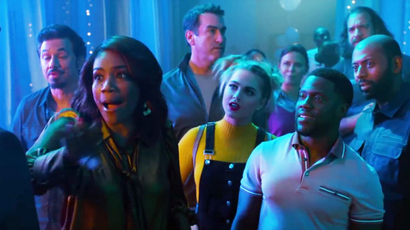 Tiffany Haddish, Kevin Hart ve filmu  / Night School