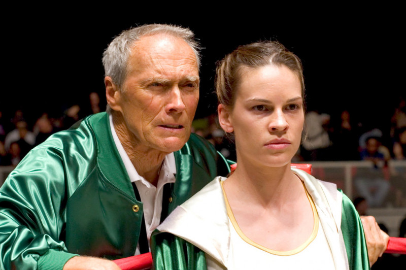Clint Eastwood, Hilary Swank ve filmu  / Million Dollar Baby