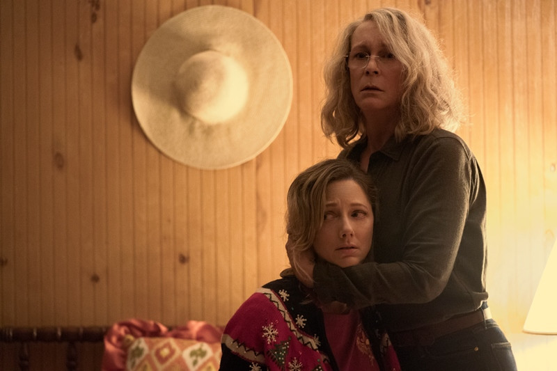 Judy Greer, Jamie Lee Curtis ve filmu Halloween / Halloween
