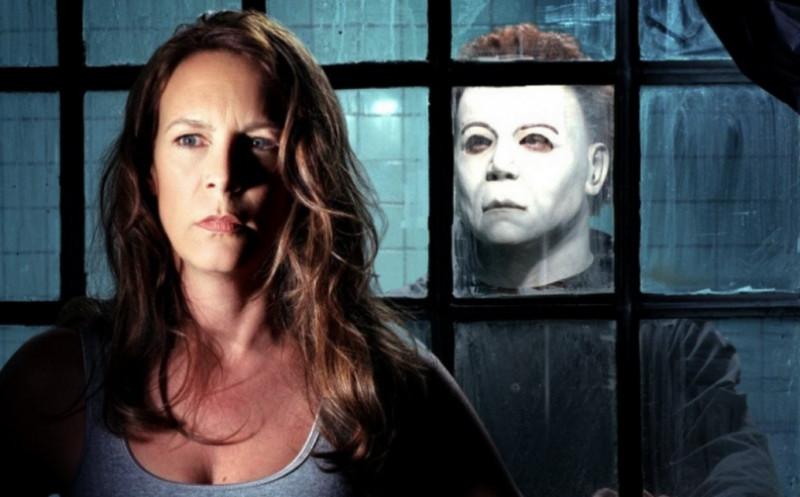 Jamie Lee Curtis ve filmu Halloween: Zmrtvýchvstání / Halloween: Resurrection