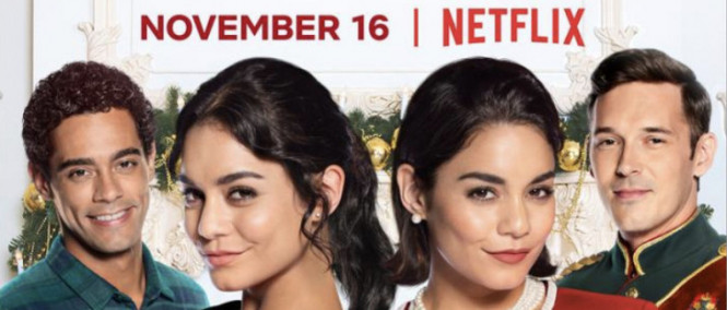 Vanessa Hudgens v traileru vánoční romantické komedie The Princess Switch