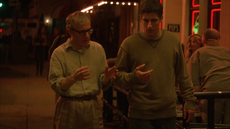 Woody Allen, Jason Biggs ve filmu Cokoliv / Anything Else