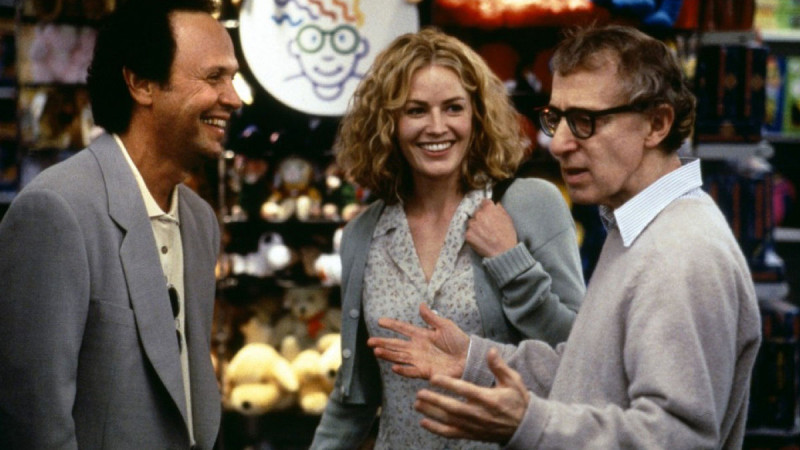 Woody Allen, Elisabeth Shue, Billy Crystal ve filmu Pozor na Harryho! / Deconstructing Harry