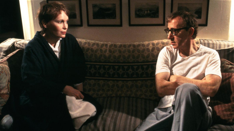 Woody Allen, Mia Farrow ve filmu Manželé a manželky / Husbands and Wives