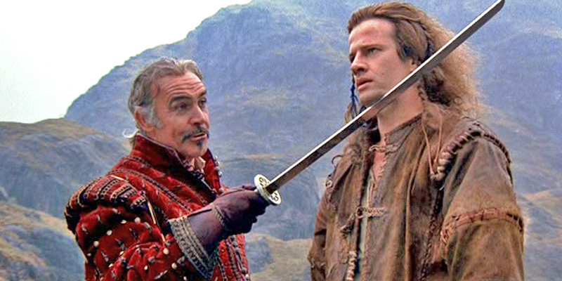 Christopher Lambert, Sean Connery ve filmu Highlander / Highlander