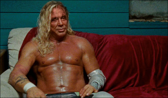 Mickey Rourke ve filmu Wrestler / The Wrestler