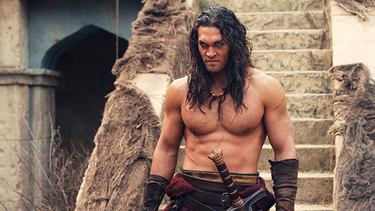 Jason Momoa ve filmu Barbar Conan / Conan the Barbarian