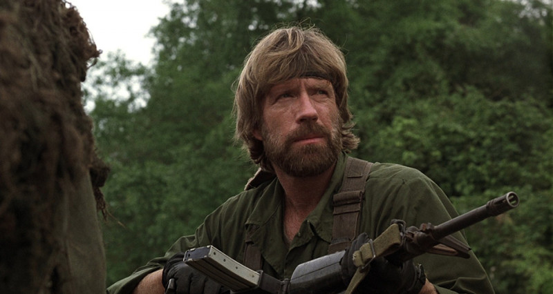 Chuck Norris ve filmu Nezvěstní v boji / Missing in Action