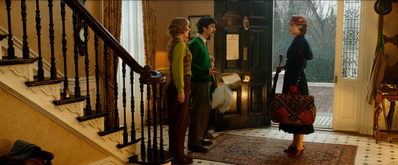Emily Mortimer, Ben Whishaw, Emily Blunt ve filmu Mary Poppins se vrací / Mary Poppins Returns