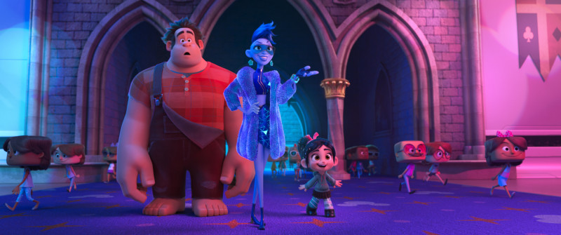 Fotografie z filmu Raubíř Ralf a internet / Ralph Breaks the Internet