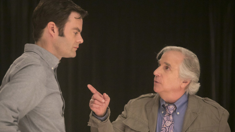 Henry Winkler, Bill Hader ve filmu  / Barry