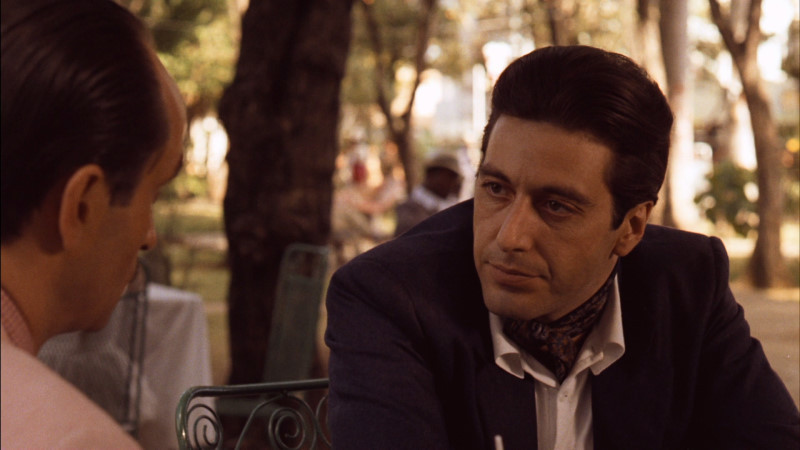 Al Pacino ve filmu Kmotr II / The Godfather: Part II