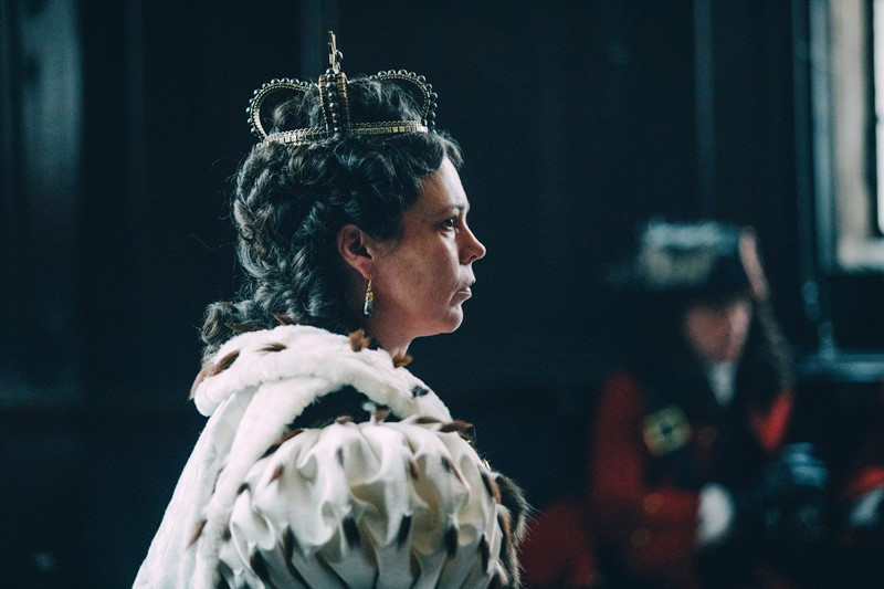 Olivia Colman ve filmu Favoritka / The Favourite