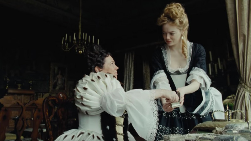 Olivia Colman, Emma Stone ve filmu Favoritka / The Favourite