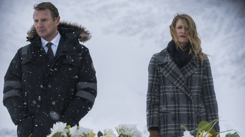 Liam Neeson, Laura Dern ve filmu Mrazivá pomsta / Cold Pursuit