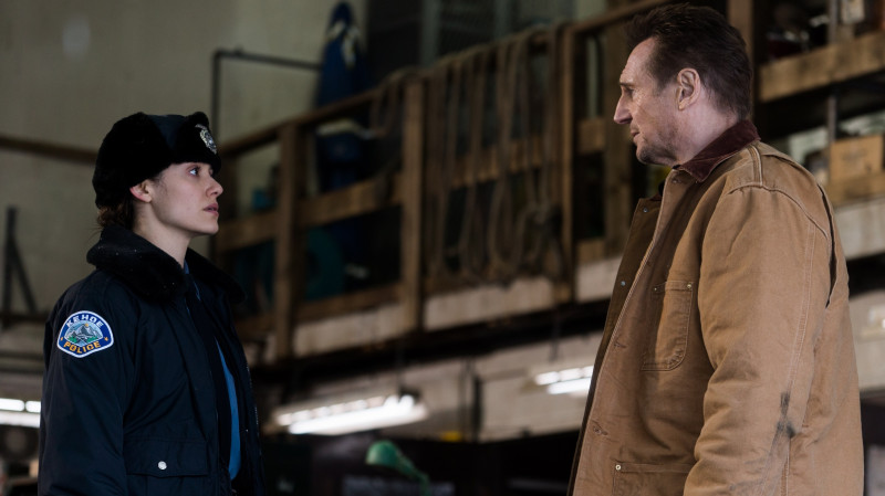 Emmy Rossum, Liam Neeson ve filmu Mrazivá pomsta / Cold Pursuit