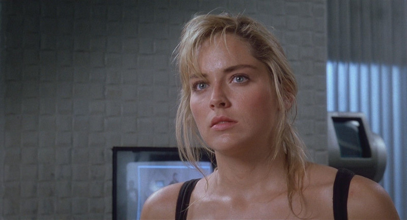 Sharon Stone ve filmu  / Total Recall