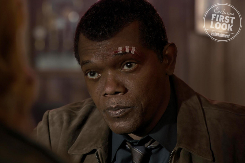Samuel L. Jackson ve filmu Captain Marvel / Captain Marvel