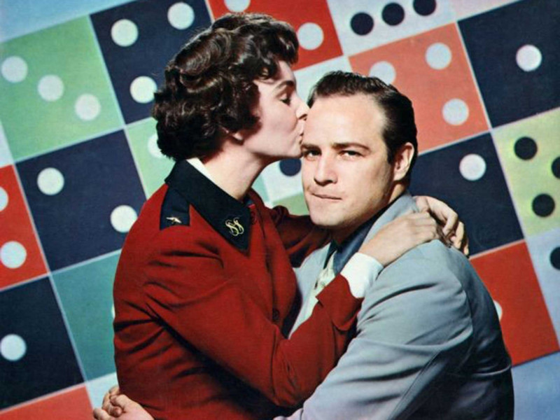 Marlon Brando, Jean Simmons ve filmu Frajeři a saze / Guys and Dolls
