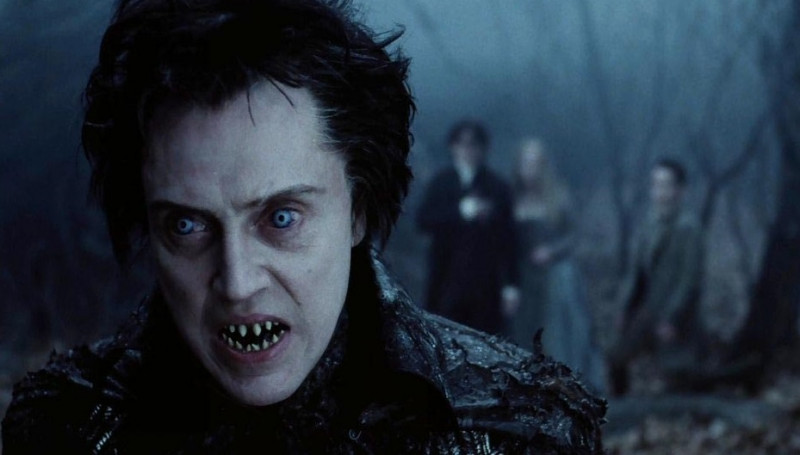 Christopher Walken ve filmu Ospalá díra / Sleepy Hollow