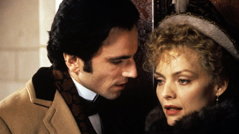 Michelle Pfeiffer, Daniel Day-Lewis ve filmu Věk nevinnosti / The Age of Innocence