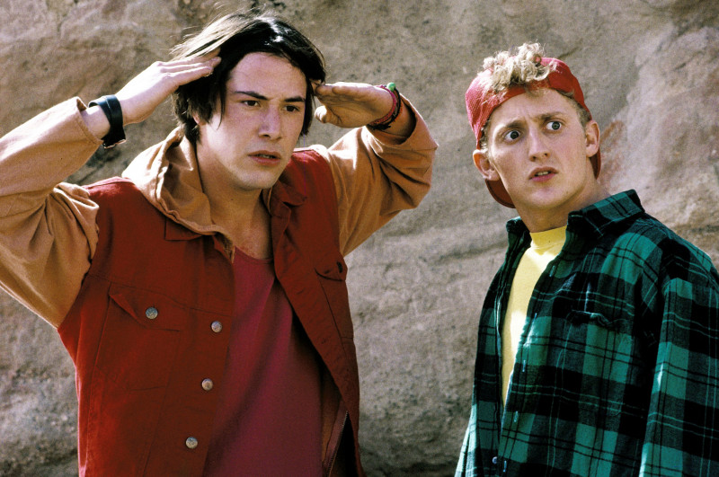 Keanu Reeves, Alex Winter ve filmu Neskutečná cesta Billa a Teda / Bill & Ted's Bogus Journey