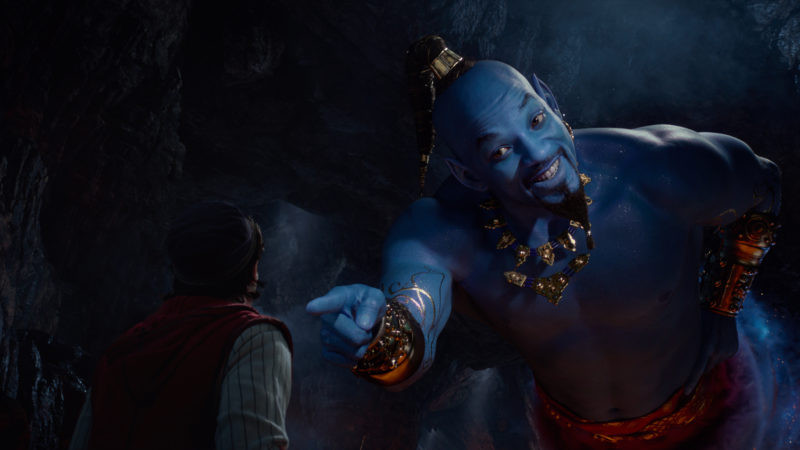 Mena Massoud, Will Smith ve filmu Aladin / Aladdin