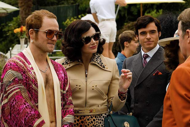 Richard Madden, Bryce Dallas Howard, Taron Egerton ve filmu Rocketman / Rocketman