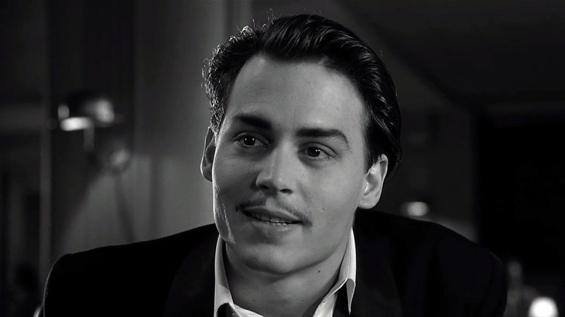 Johnny Depp ve filmu  / Ed Wood