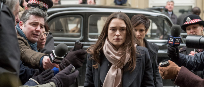 Keira Knightley v politickém thrilleru Official Secrets