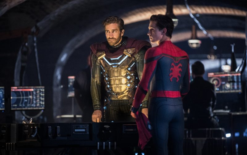 Jake Gyllenhaal, Tom Holland ve filmu Spider-Man: Daleko od domova / Spider-Man: Far from Home