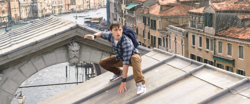 Tom Holland ve filmu Spider-Man: Daleko od domova / Spider-Man: Far from Home