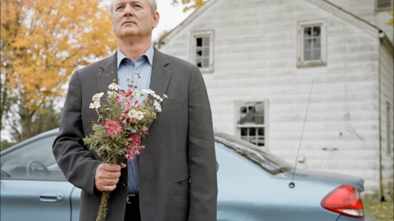 Bill Murray ve filmu Zlomené květiny / Broken Flowers
