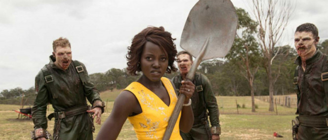 Lupita Nyong'o v traileru hororové komedie Little Monsters