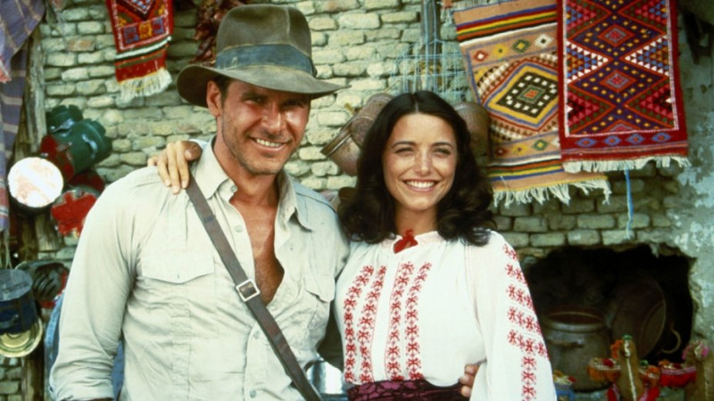 Harrison Ford, Karen Allen ve filmu Indiana Jones a dobyvatelé ztracené archy / Raiders of the Lost Ark
