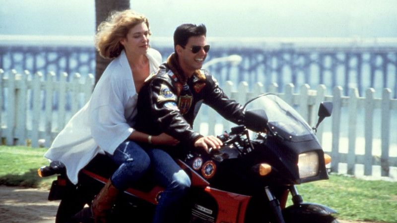 Tom Cruise, Kelly McGillis ve filmu Top Gun / Top Gun