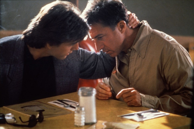 Dustin Hoffman, Tom Cruise ve filmu Rain Man / Rain Man