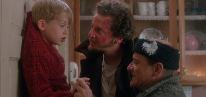 Macaulay Culkin, Joe Pesci, Daniel Stern ve filmu Sám doma / Home Alone