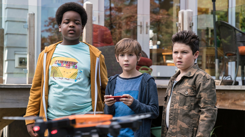 Jacob Tremblay, Keith L. Williams, Brady Noon ve filmu  / Good Boys
