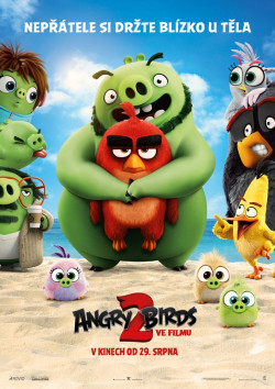 Český plakát filmu Angry Birds ve filmu 2 / The Angry Birds Movie 2