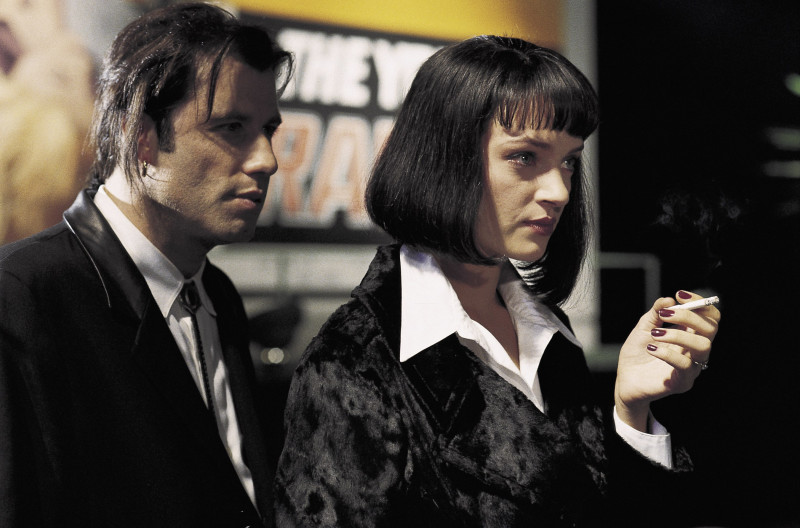 John Travolta, Uma Thurman ve filmu Pulp Fiction: Historky z podsvětí / Pulp Fiction