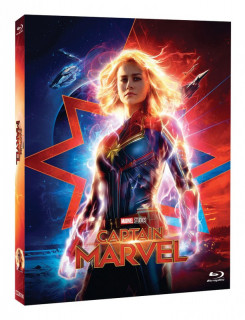 BD obal filmu Captain Marvel / Captain Marvel