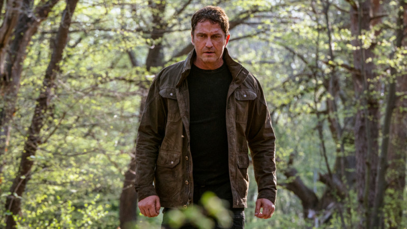 Gerard Butler ve filmu  / Angel Has Fallen