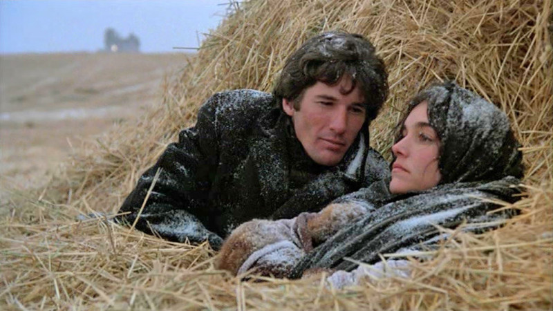 Richard Gere, Brooke Adams ve filmu Nebeské dny / Days of Heaven