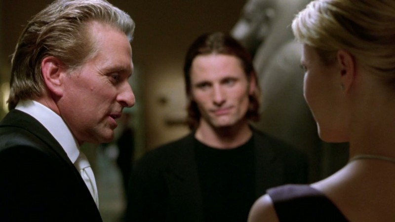 Michael Douglas, Gwyneth Paltrow, Viggo Mortensen ve filmu Dokonalá vražda / A Perfect Murder
