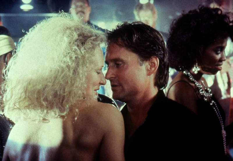 Glenn Close, Michael Douglas ve filmu Osudová přitažlivost / Fatal Attraction