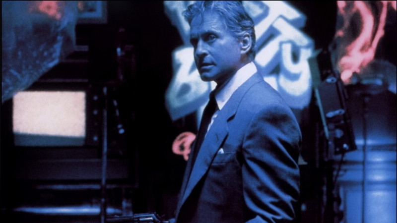Michael Douglas ve filmu Hra / The Game