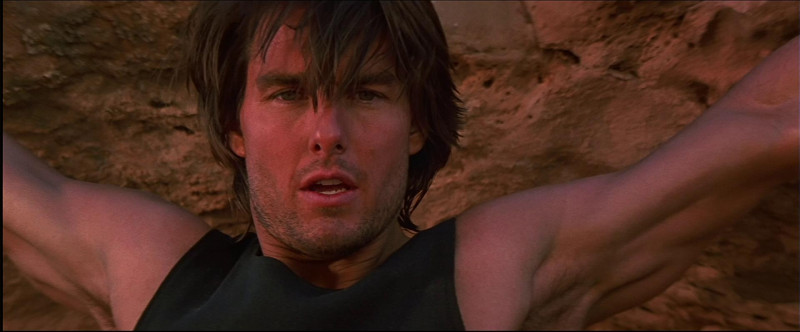 Tom Cruise ve filmu Mission: Impossible II. / Mission: Impossible II