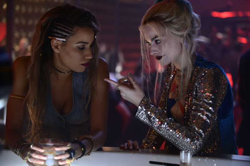 Jurnee Smollett, Margot Robbie ve filmu Birds of Prey (Podivuhodná proměna Harley Quinn) / Birds of Prey: And the Fantabulous Emancipation of One Harley Quinn